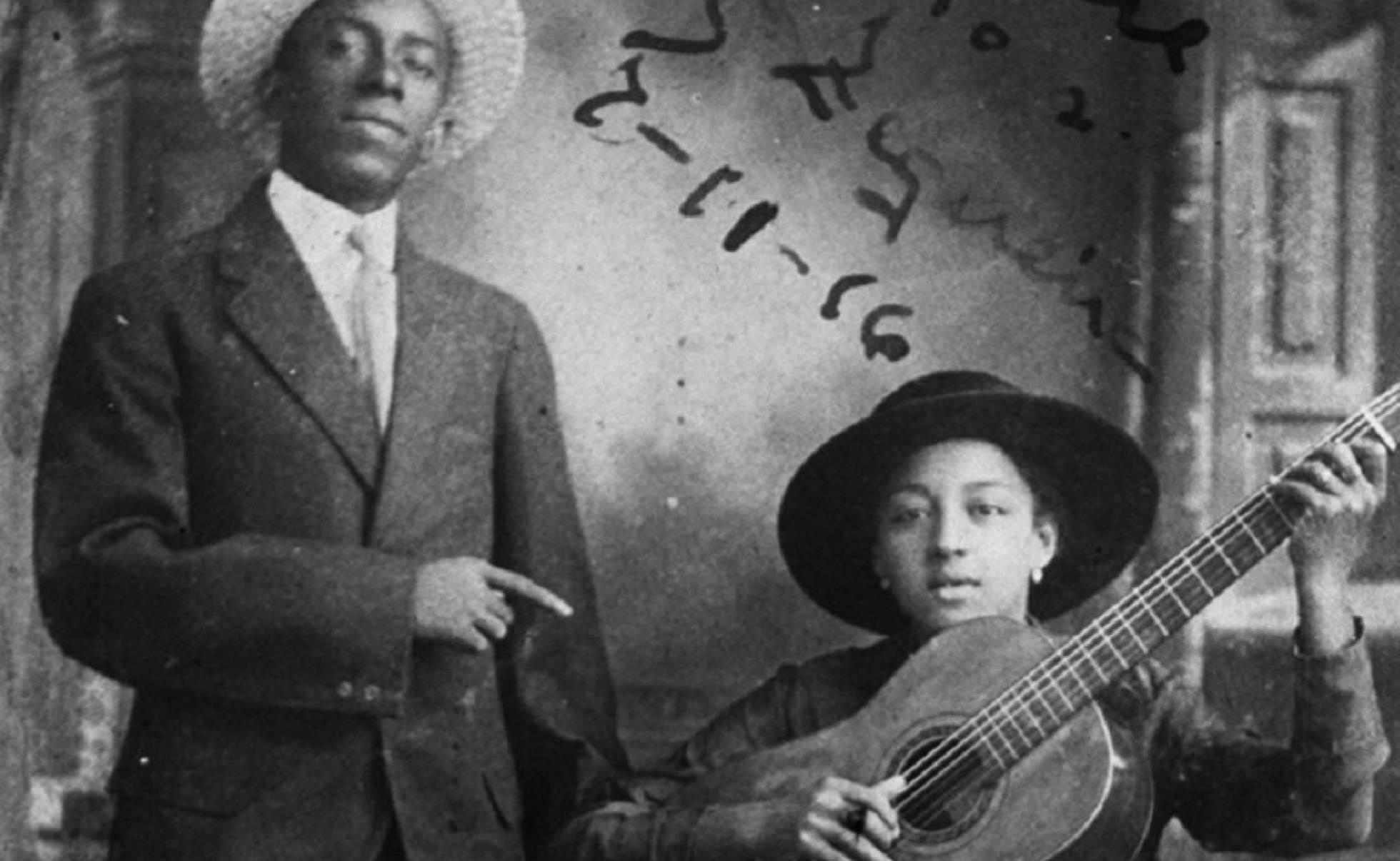 María Teresa Vera junto a Rafael Zequeira, en 1916. Foto: El País