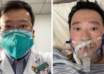 El fallecido médico Li Wenliang que denunció el coronavirus y fue reprendido por la policía en diciembre.