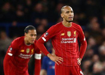 Fabinho está fuera de forma, y cuando él falla, todo el Liverpool se lo siente. Foto: Tomada de Transfer Tavern.