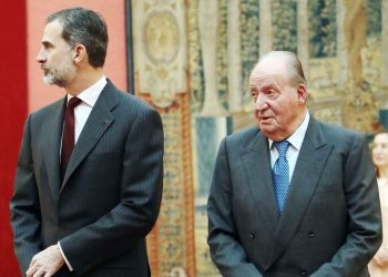 felipe VI-Juan Carlos I-rey de españa