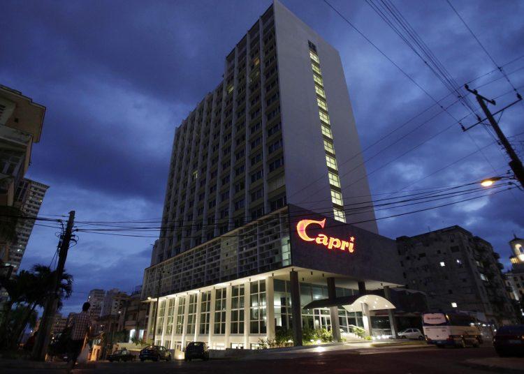 NH Hotel Group gestiona a través de subsidiarias dos propiedades en Cuba, entre ellas el hotel NH Capri La Habana. Foto AP/Franklin Reyes.
