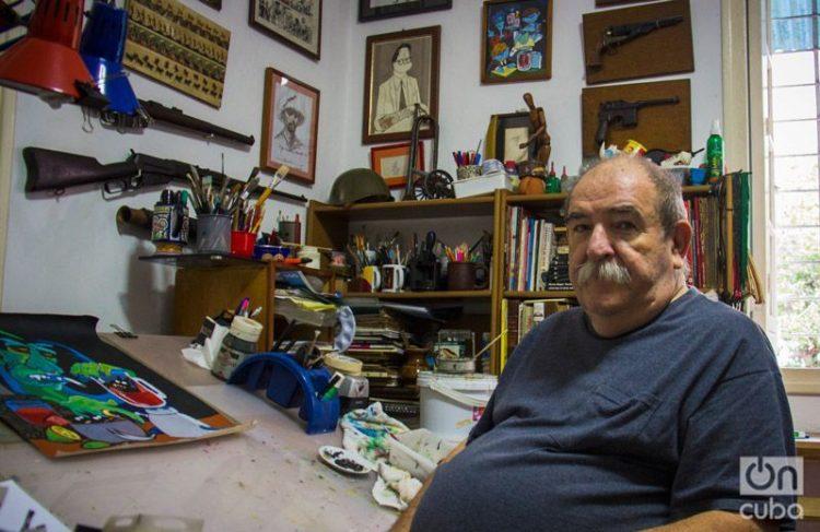 Juan Padrón. Foto: Mario Luis Reyes.