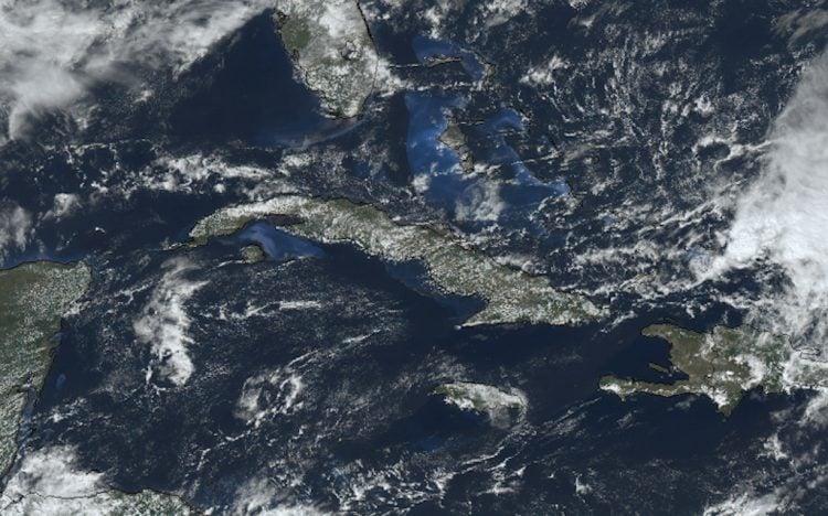 Imagen satelital de Cuba. Foto: Insmet.cu