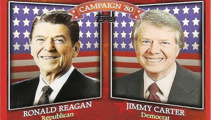Campaña Reagan Vs Carter.