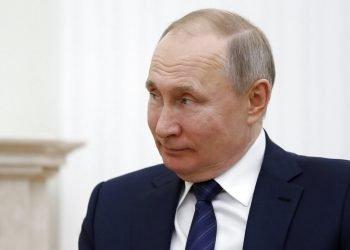 El presidente ruso Vladimir Putin en un acto oficial en el Kremlin, en Moscú, el 27 de febrero de 2020. Foto: Evgenia Novozhenina/Pool, vía AP.