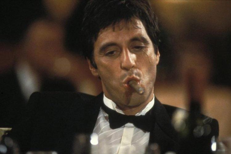 """Al Pacino en """"Scarface"""" (1983)."""