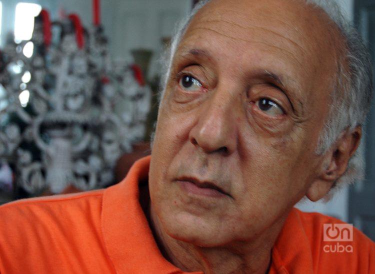 César López nació en Santiago de Cuba, en 1933. Foto: Kaloian.