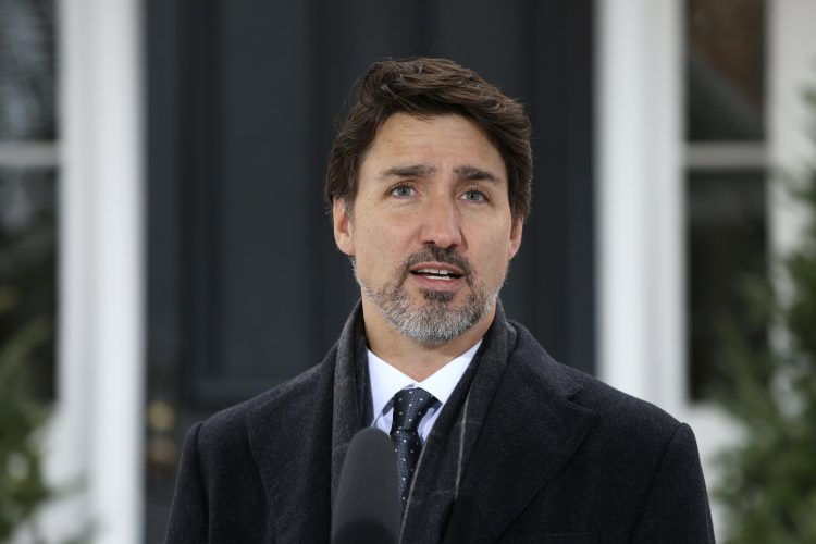 El primer ministro canadiense Justin Trudeau. Foto: Dave Chan/AFP.