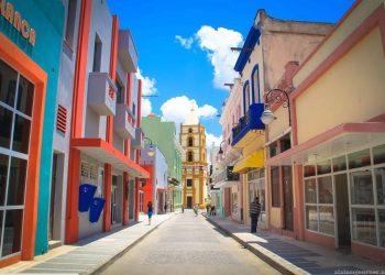 Calle Estrada Palma, en la ciudad de Camagüey. Foto: Pinterest.