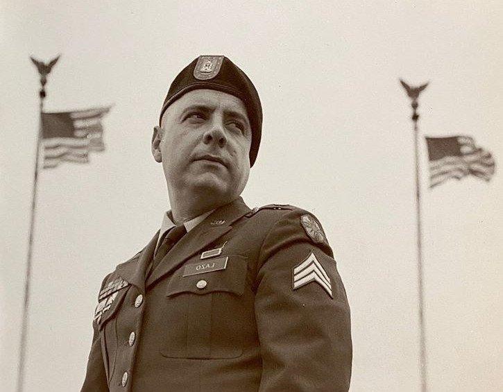 Carlos Lazo sirvió al ejército de Estados Unidos durante la guerra de Iraq.