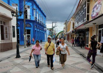 El Boulevard de Bayamo, capital de la provincia Granma. Foto: Flickr.