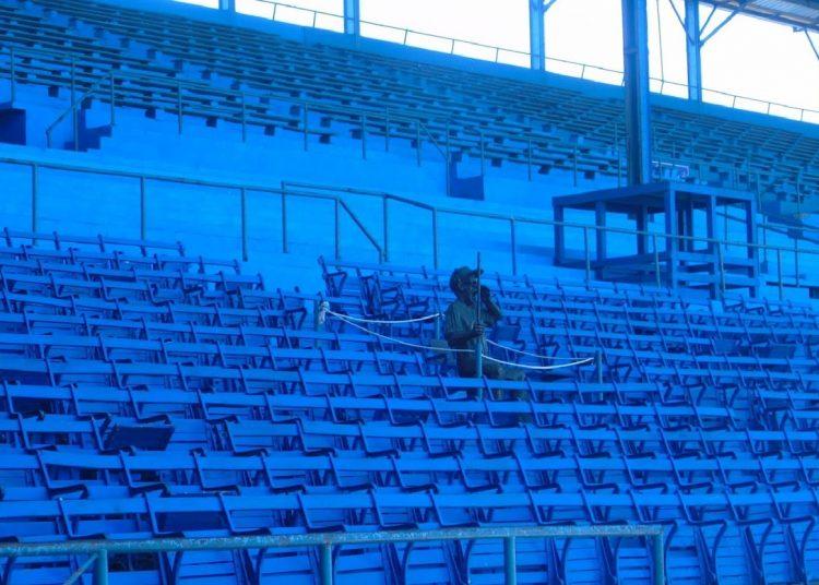 No habrá acción en los estadios cubanos al menos hasta agosto. Foto: Raidel Pedrera.
