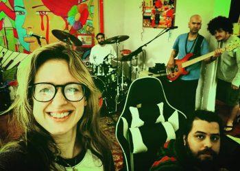 """""""Nosotros somos familia"""", expresa la cantante de Sweet Lizzy Project. Foto: perfil de Facebook de la artista."""