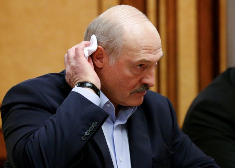 El presidente de  Bielorrusia, Alexander Lukashenko. Foto: EFE.