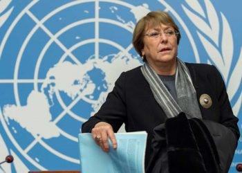 Michelle Bachelet, alta comisionada de la ONU para los derechos humanos. Foto: Radio Duna 89.7FM