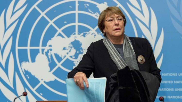 Michelle Bachelet, alta comisionada de la ONU para los derechos humanos. Foto: Radio Duna 89.7FM/Archivo