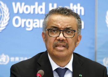 Tedros Adhanom Ghebreyesus, director general de la Organización Mundial de la Salud Foto: Salvatore Di Nolfi / Keystone vía AP/ Archivo.