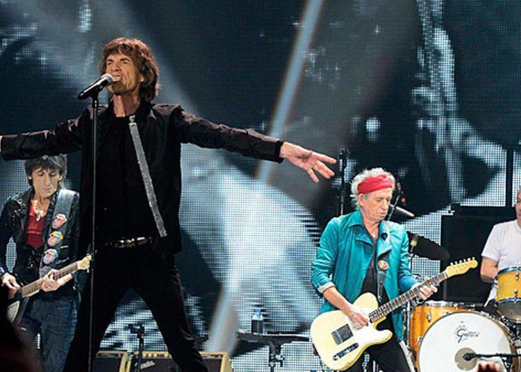 Los Rolling Stones durante un concierto en Los Ángeles, en 2015. Foto: Telemadrid.