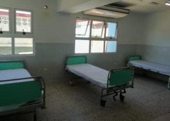 Tras confirmarse seis casos positivos con coronavirus fue puesto en cuarentena el hospital Julio Aristegui, de Cárdenas, Matanzas. Foto: @cardenashtc/Twitter