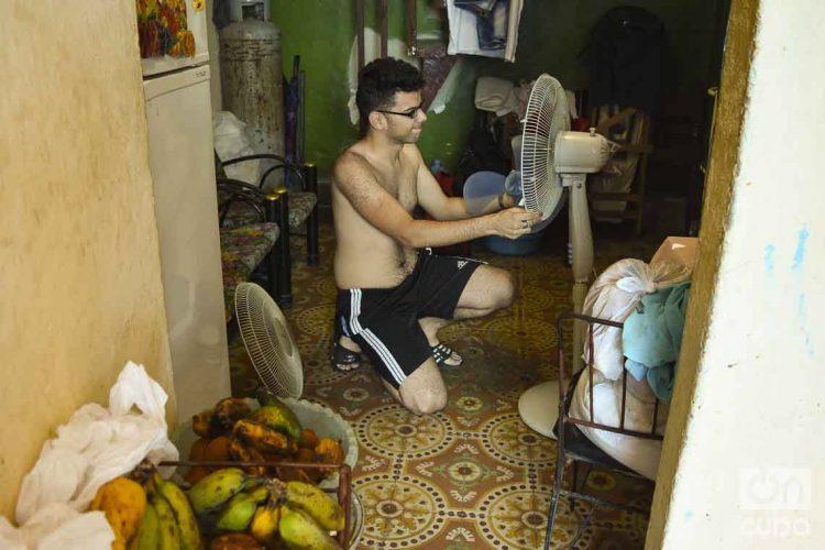 Cuba registro este domingo su mayor temperatura, con 39.7 grados Celsius. Foto: Otmaro Rodríguez
