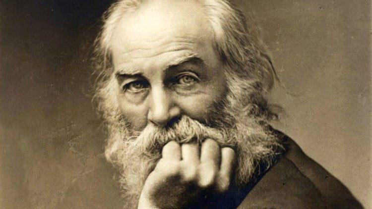 El poeta Walt Whitman (1819-1892).