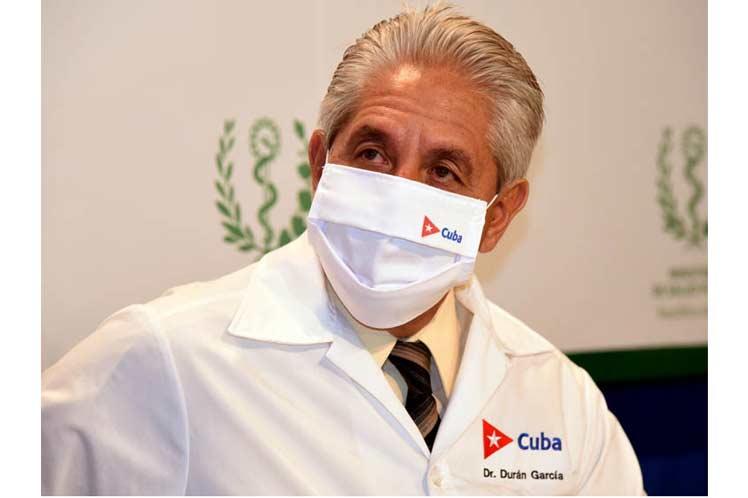 Dr. Francisco Durán, director de Epidemiología del Ministerio cubano de Salud Pública. Foto: Prensa Latina.