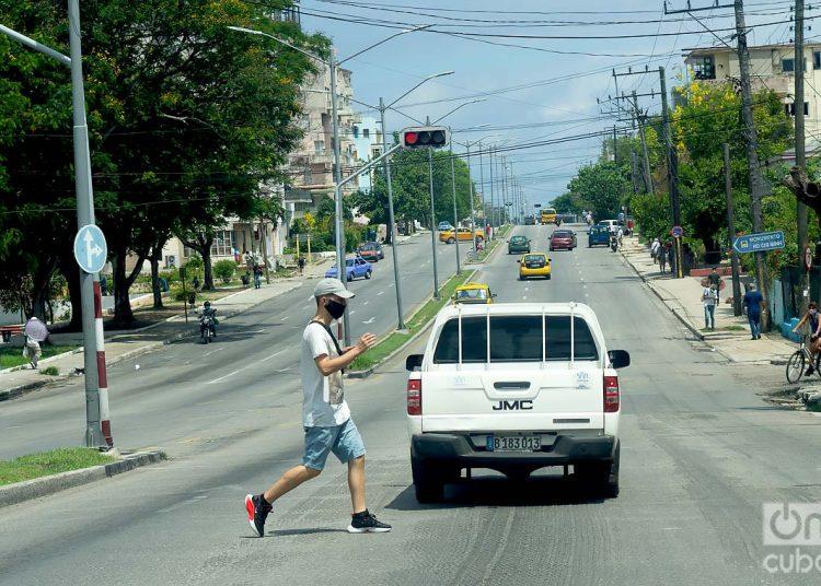 La Habana y Matanzas, provincias que otra vez son las únicas en reportar nuevos casos de la Covid-19. Hoy en Minsap informó una muerte y ocho contagios. Foto: Otmaro Rodríguez