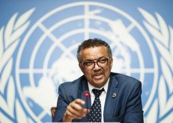 El Dr. Tedros Adhanom Gebreyesus, director de la OMS. Foto: Politico.