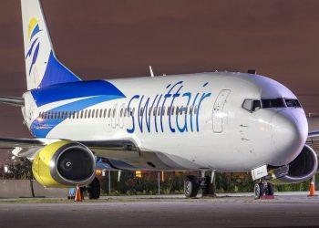 Un Boeing 737 igual a los utilizados en los vuelos entre Miami y La Habana. | Swift Air