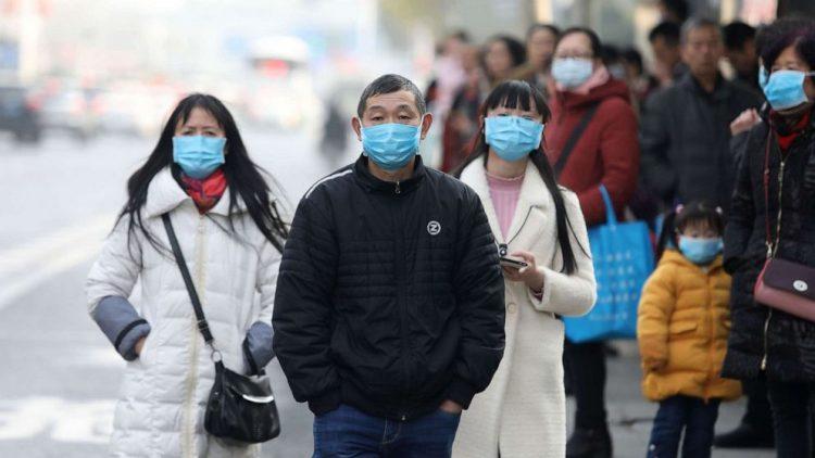 En las calles de Beijing. Foto: WSJ.