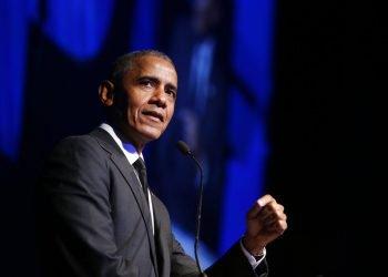 El expresidente Barack Obama durante una ceremonia en Nueva York. Foto: AP/Jason DeCrow, Archivo.