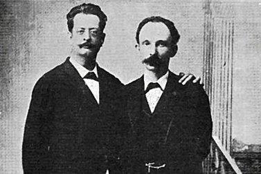 Fermín Valdés Domínguez y José Martí. Cayo Hueso, Estados Unidos, 1894.