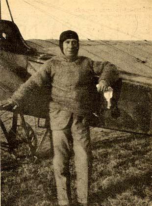 Domingo Rosillo, pionero de la aviación cubana. Foto: Habana Radio.