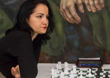 Yerisbel Miranda, una de las participantes del torneo en Internet. Foto: Calixto N. Llanes/JIT