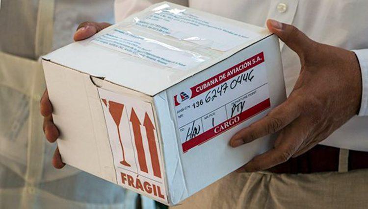 La Organización Panamericana de la Salud donó 100.000 pruebas PCR a Cuba. Foto: cubadebate.cu