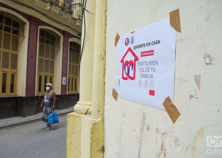 Por segundo día consecutivo, Cuba no reporta fallecidos por el nuevo coronavirus. La cifra total de infectados es de mil 703. Foto: Otmaro Rodríguez