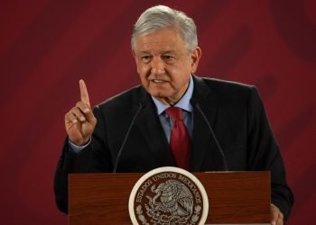 El presidente Andrés Manuel López Obrador. Foto: Axios.