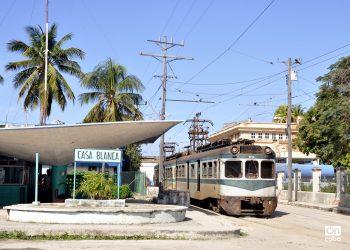 El tren eléctrico de Hershey, que parte de Casa Blanca y llega hasta Matanzas.