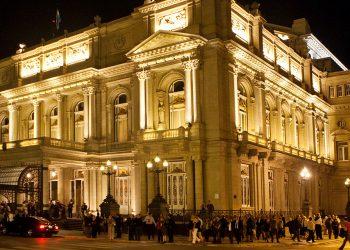 El Teatro Colón de Buenos Aires. Foto: Tangol.