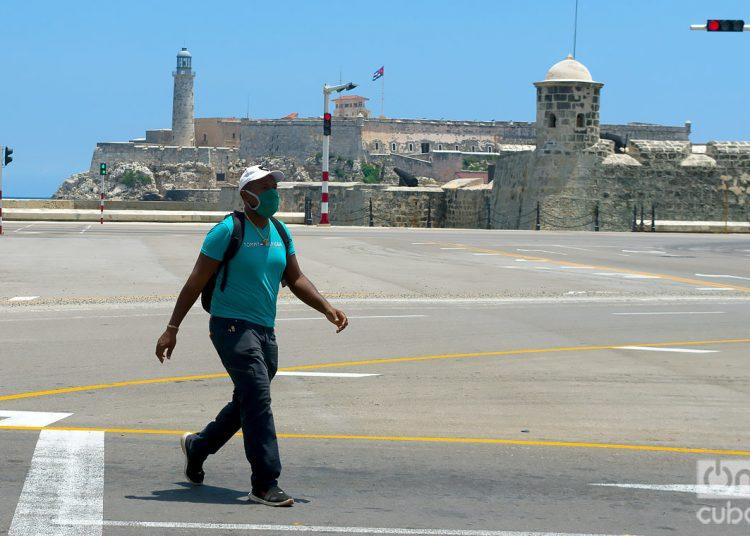 El Ministerio de Salud Pública (Minsap) reportaba hoy un paciente en estado crítico y cuatro en estado grave, todos de La Habana. Foto: Otmaro Rodríguez
