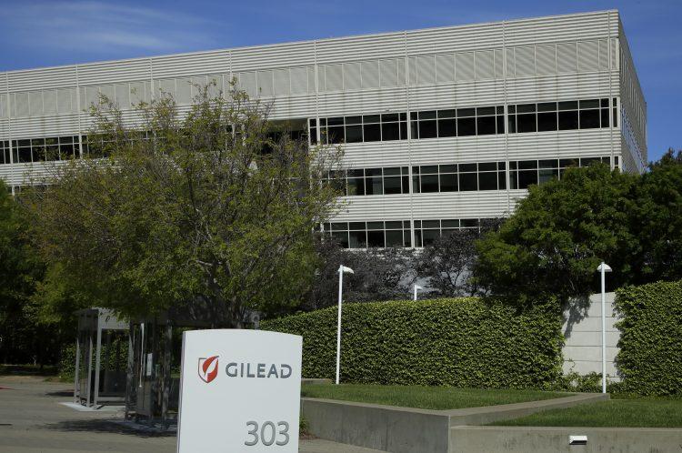 Oficinas centrales de la farmacéutica Gilead Sciences, en Foster City, California. La empresa desarrolló el tratamiento remdesivir para tratar el coronavirus. Foto: Ben Margot, AP