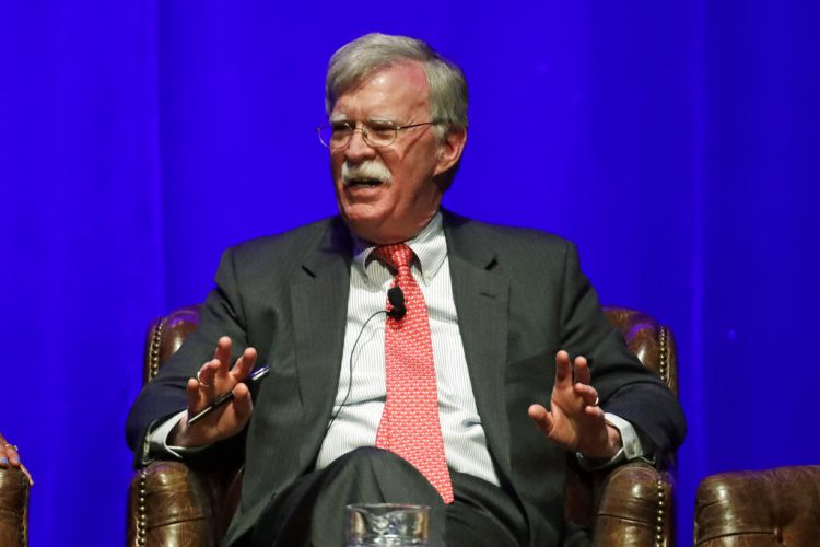 Foto tomada el 19 de febrero del 2020 del ex asesor de seguridad nacional John Bolton en un evento en Nashville. Foto: AP/Mark Humphrey.