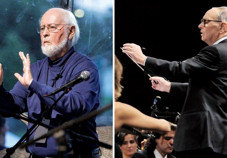 John Williams (Izq) y Ennio Morricone, galardonados con el Princesa de Asturias de las Artes. Foto: www.hollywoodreporter.com