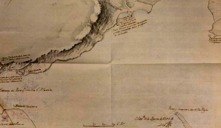 El Archivo General de Indias halla un mapa inédito de la Bahía de La Habana. Foto: notimerica.com