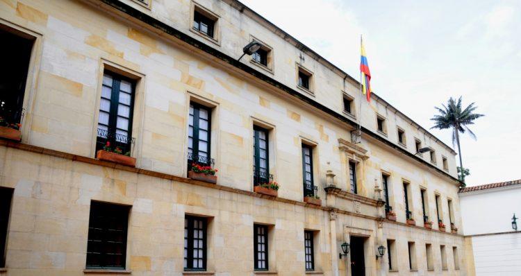 Sede de la Cancillería de Colombia. Foto: cancillería.gov.co/Archivo.