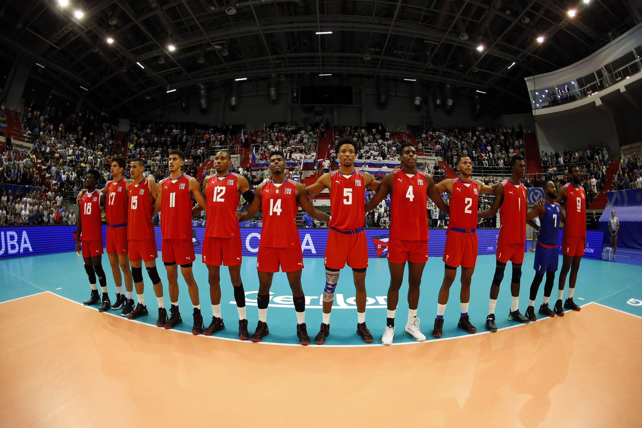 La nueva generación de voleibolistas cubanos tiene un gran potencial. Foto: Getty Images.
