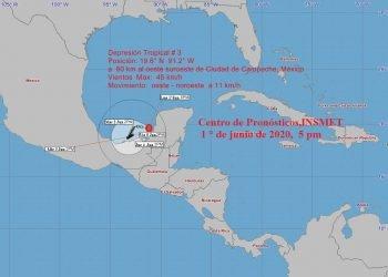 Imagen del Instituto de Meteorología de Cuba
