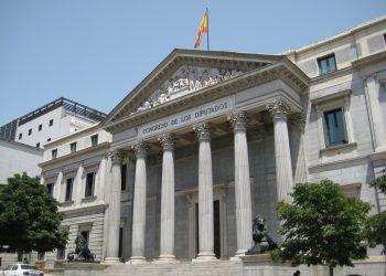 Congreso de los Diputados de España, en Madrid. Foto: La Voz de Almería / Archivo.
