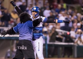 Dariel Álvarez se ha consolidado como un bateador temible en los circuitos caribeños, sobre todo en México. Foto: Tomada de Puro Béisbol