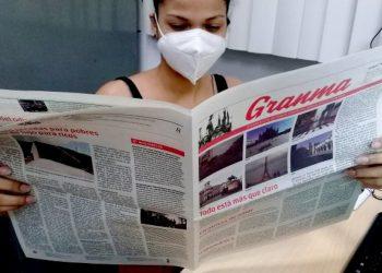 Los periódicos nacionales (Granma, Trabajadores y Juventud Rebelde) y los provinciales circularán en colores, desde Pinar del Río hasta Camagüey. Foto: granma.cu